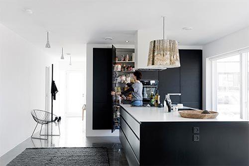 Moderne Keuken Inrichting : Grote moderne keuken interieur inrichting keuken pinterest