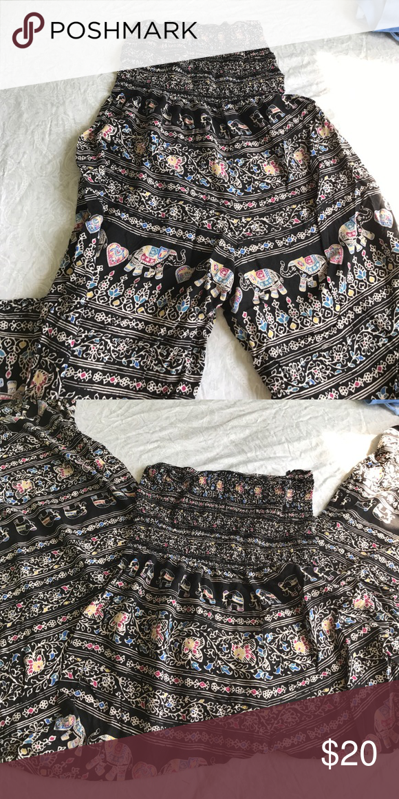 1400da4320be LA Hearts jumpsuit Tribal elephants jumpsuit size S from pacsun free  shipping on my depop account
