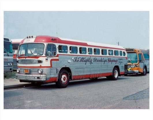Rochester Ny Restored Old Look Bus: The Mighty Brooklyn Skyways Bus