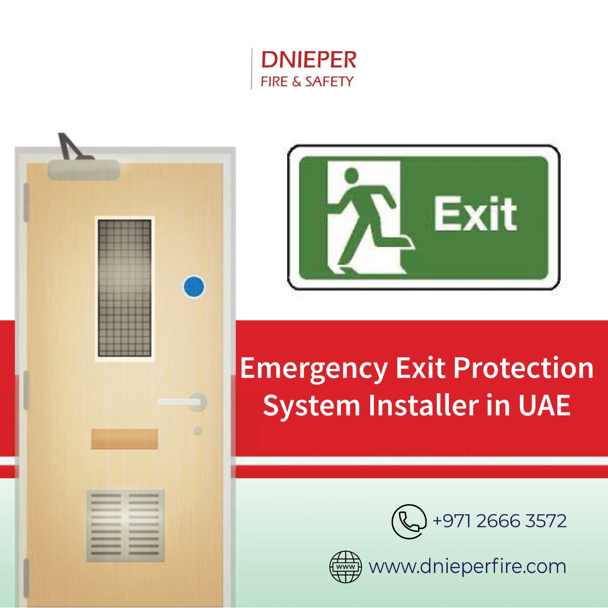 Dnieper Fire & Safety is an UAE based fire protection
