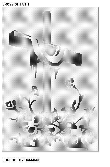 THE CROSS   CROCHET   Pinterest   Religiosas, Imágenes religiosas y ...