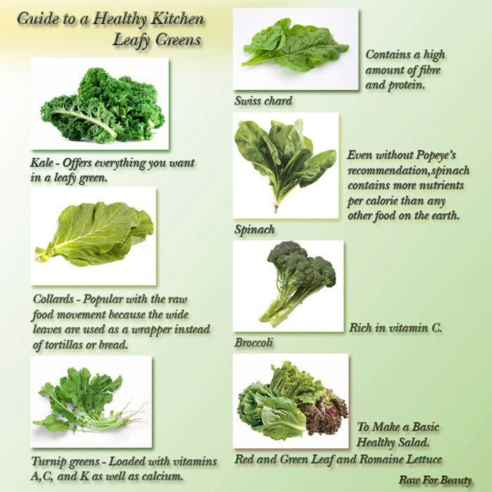 Leafy Greens Leafy Greens Healthy Kitchen Raw For Beauty