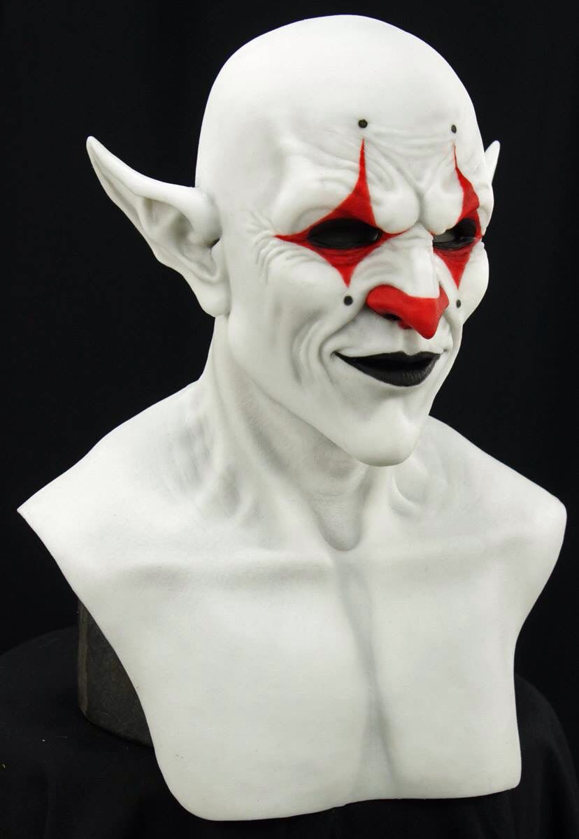Composite effects demon clown | Silicone masks | Pinterest ...