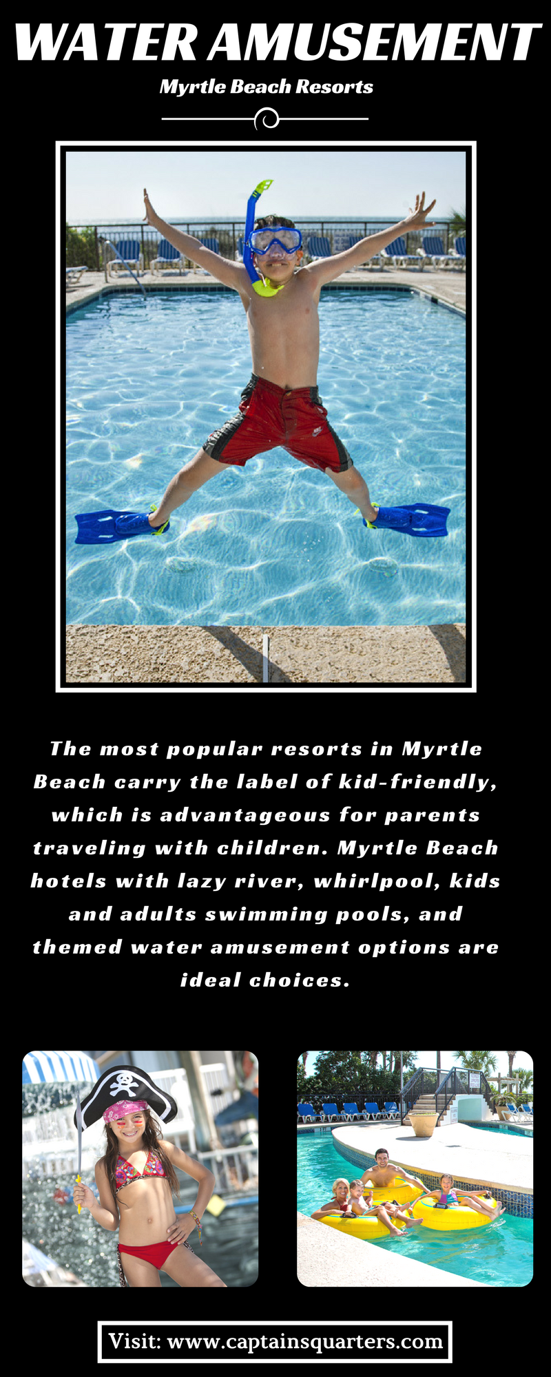 The most popular resorts in Myrtle Beach carry the label ...