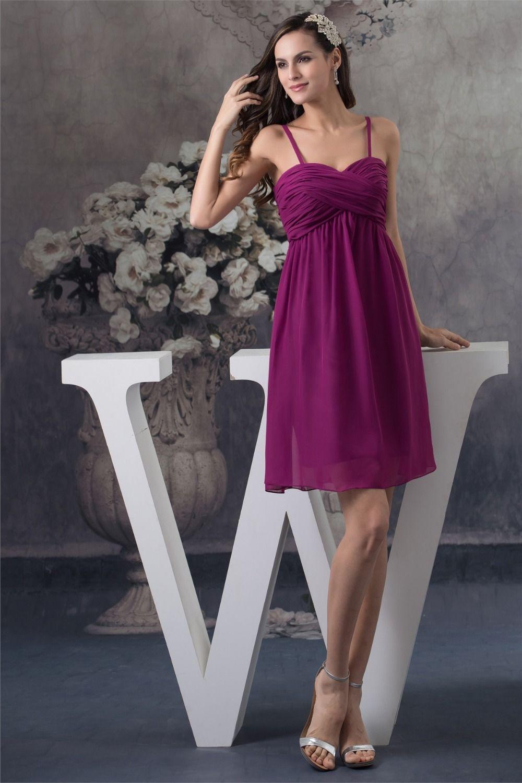 Gray dress for wedding party  Click to Buy ucuc Chiffon A line Sleeveless Sweetheart Short Mini