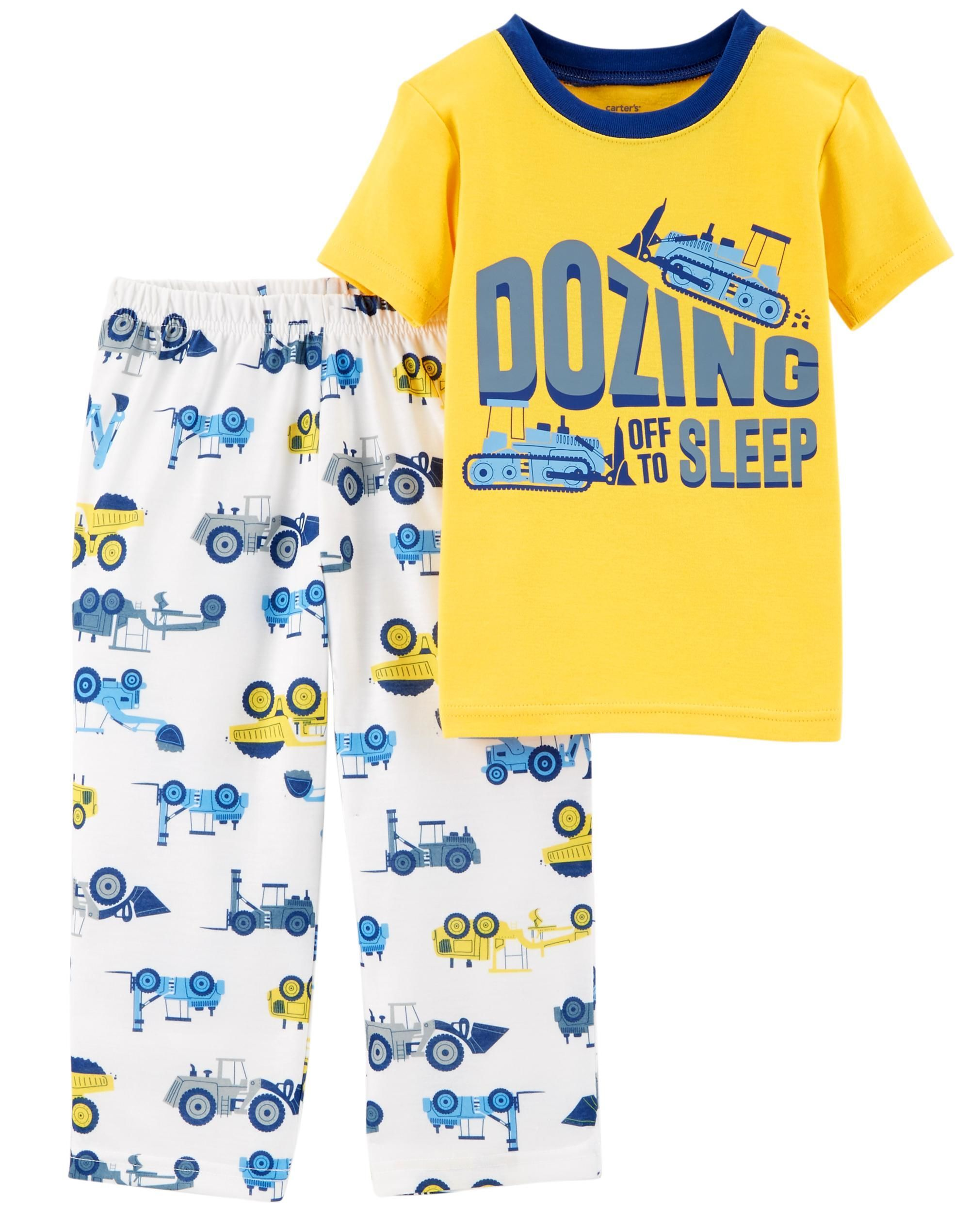 1a21217a0 2-Piece Construction Cotton   Poly PJs