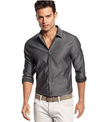 Inc international concepts big and tall shirt long sleeve for Big and tall casual shirts