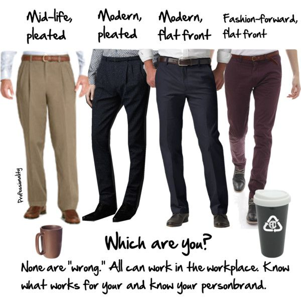 Men S Pleated And Flat Front Pants In 2019 Professional Men