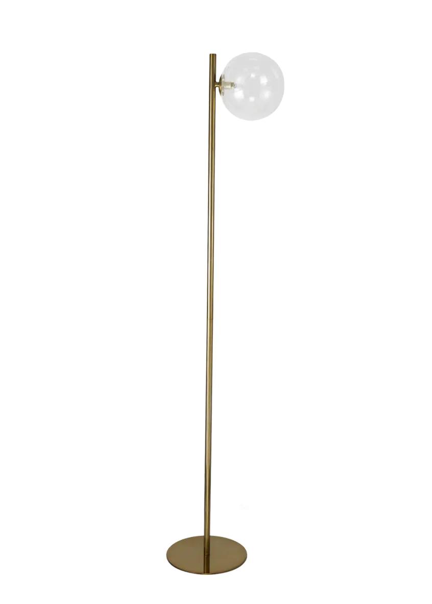 Nova Brass Floor Lamp H150cm X W33cm Metallic Floor Lamp