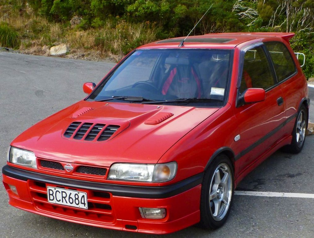 1990 nissan pulsar gti r one hell of a car motive to. Black Bedroom Furniture Sets. Home Design Ideas