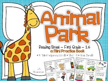 Animal Park A Mini Book Mini Books Reading Street High
