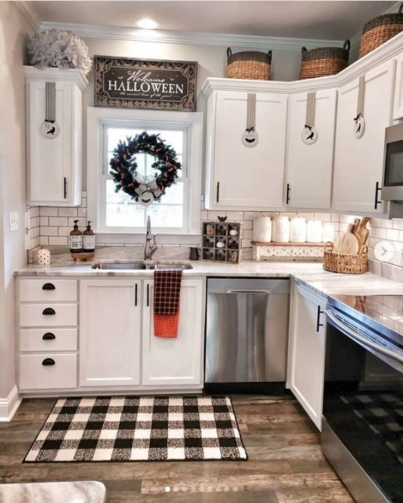 19 Best Black and White Buffalo Plaid Home Decor Ideas | Of Life + Lisa