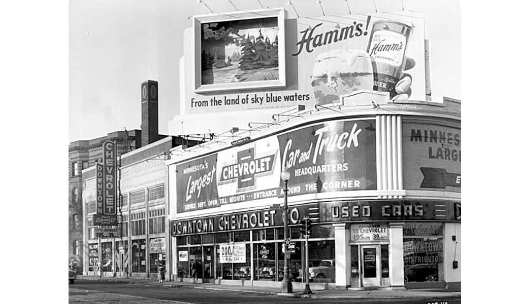 Minneapolis Downtown Chevrolet Dealer From 1666 Hennepin Avenue