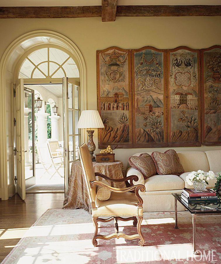 Home Librarydesign Ideas: Comfortable, Livable Alabama Home
