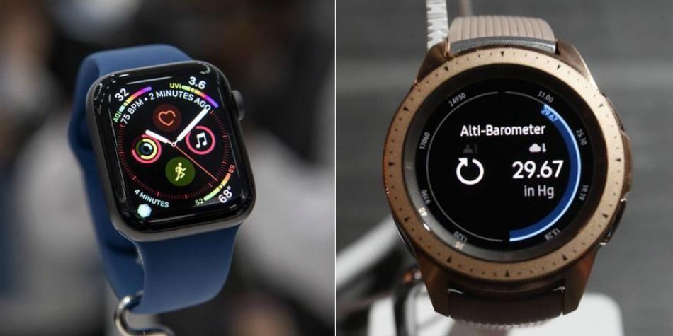 bc83d68db53 Apple Watch Series 4 vs Samsung Galaxy Watch  Smartwatches Face Off ...