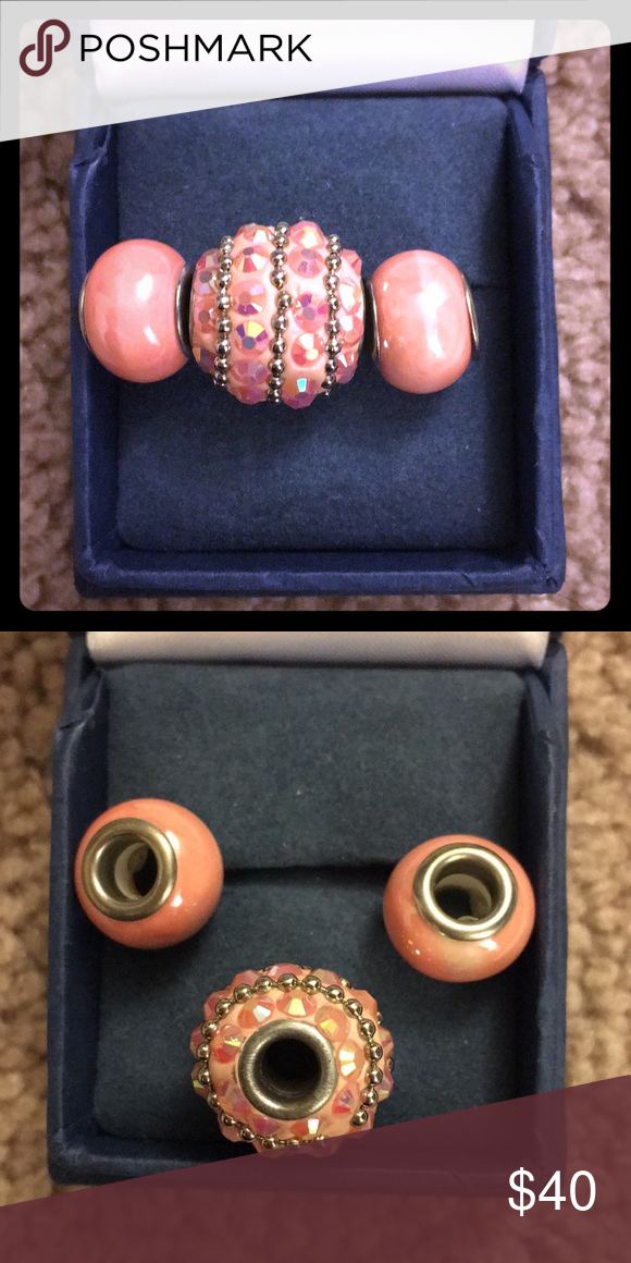 Three Bead Set Fits Kay Jewelers Charmed Memories Or Pandora Bracelets Can Also Be Worn