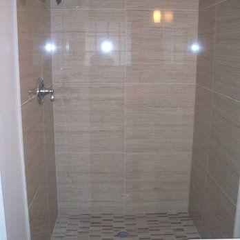 24x24 Tile Shower Yelp Bathroom In 2019 White Tiles