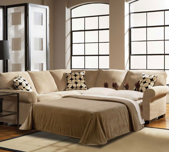 Sectional Sleeper Sofa Style With Comfort Darbylanefurniture Com In 2020 Sofas For Small Spaces Small Space Sleeper Sofa Small Sleeper Sofa
