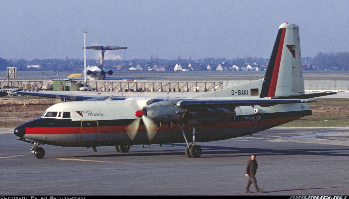 Fokker F-27-100 Friendship - Inter Regional | Aviation Photo #4365401 |  Airliners.net