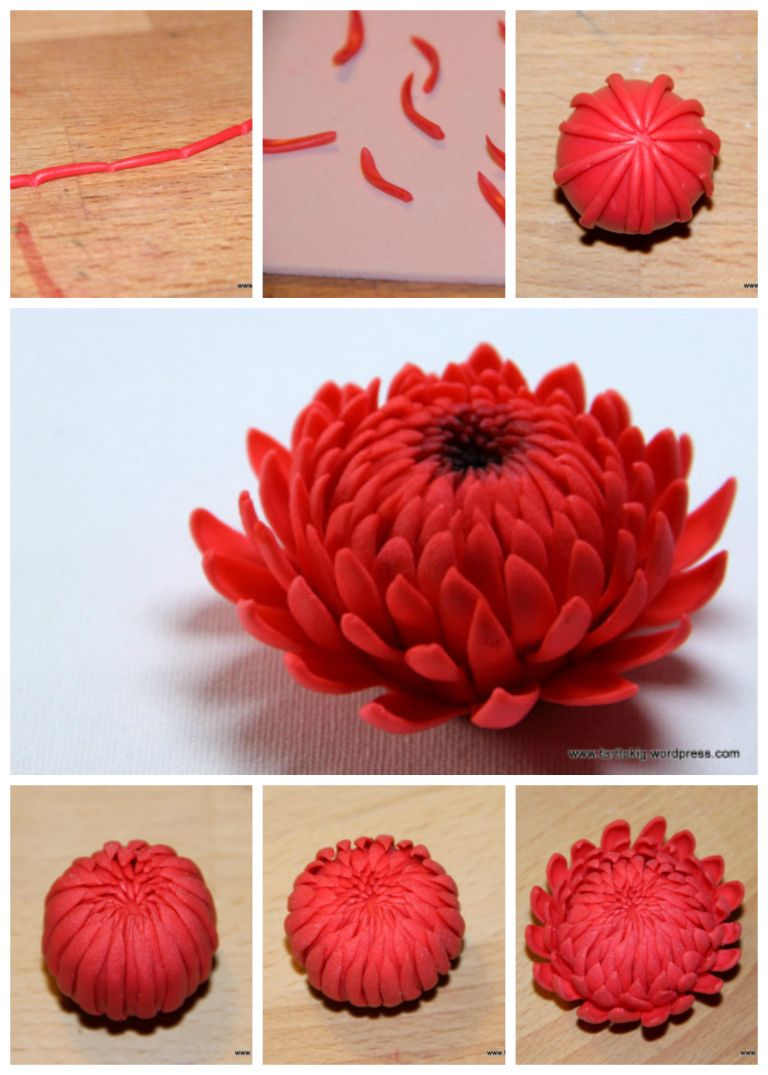Collection Of Tutorials How To Make Sugarpaste Or Fondant Flowers 1 In 2020 Fondant Flower Tutorial Flower Tutorial Sugar Flowers Tutorial