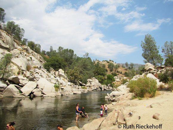 Camping Along the Kern River