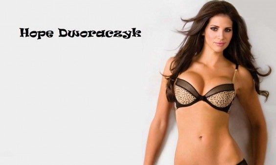 Download Hot Model Hope Dworaczyk Sexy In Bra Hd