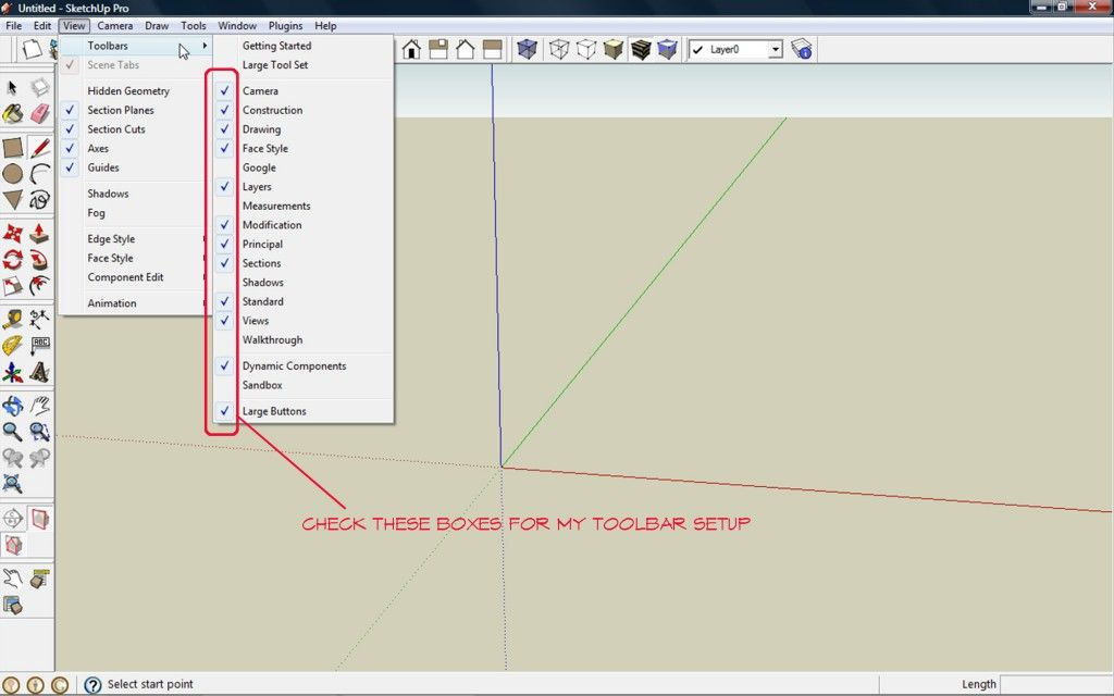 Adding Toolbars With Images Camera Drawing