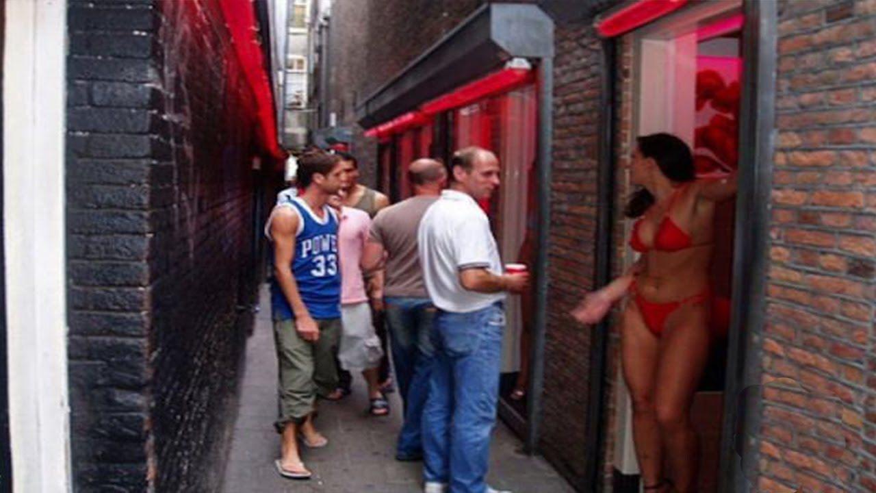 фото шлюх амстердама район красных фонарей