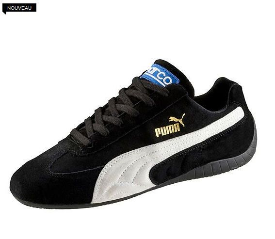 Baskets Femme PUMA, achat Basket Speed Cat Sparco Puma prix promo Boutique Puma  90,00 € f8c8e80f8505