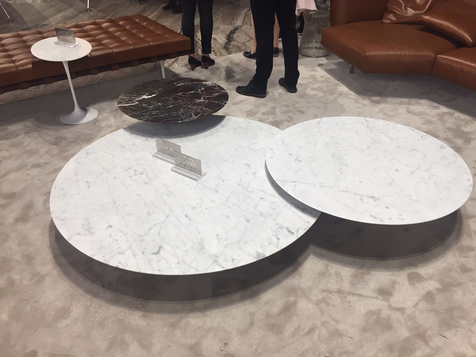 Knoll Coffee Table Cluster At Milan 2017 Knoll Coffee Table Table Inspiration Coffee Table [ 1224 x 1632 Pixel ]
