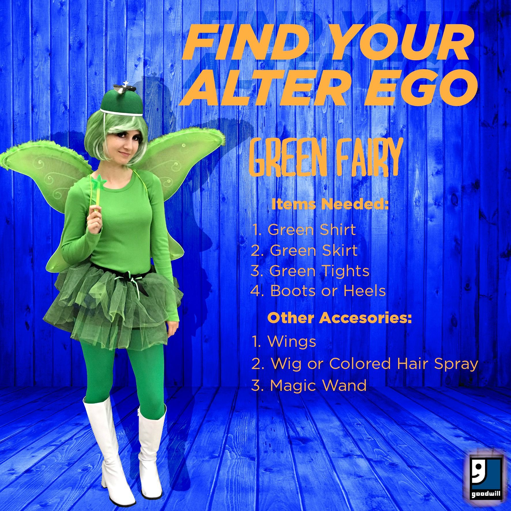 A costume that you can also wear to a Seahawks party!