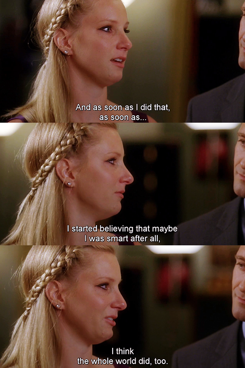 Brittany season 4 finale. So sad she won't be on anymore. By far my favorite character