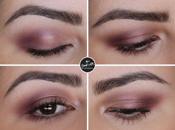 star violet makeup look using mac eyeshadows makeup