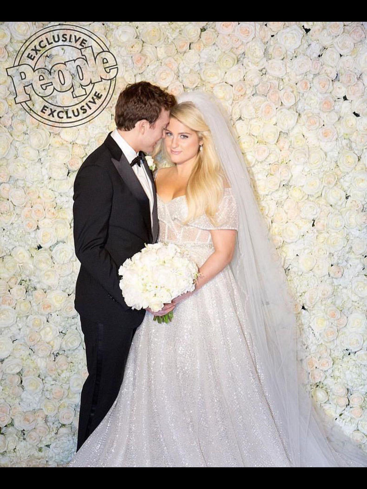 Meghan Trainor | Celebrity wedding dresses, Jessica ...