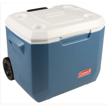 Coleman 50 Quart Xtreme 5 Day Heavy Duty Cooler With Wheels Walmart Com In 2020 Personalized Coolers Cooler Picnic Cooler