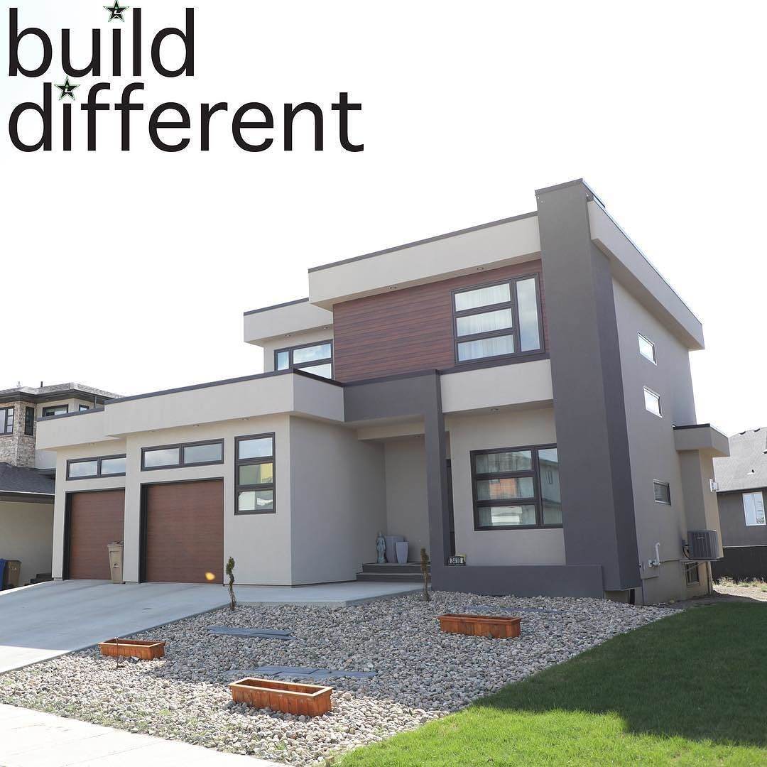 New Modernhome Exterior Design: Relaxing Weekends At Home Are Why You #BuildDifferent #YQR