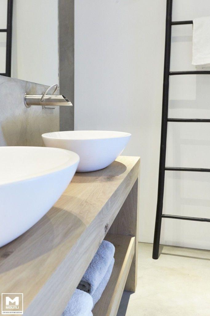 Badkamer betonstuc | | Bathrooms | Pinterest | Barn bathroom ...