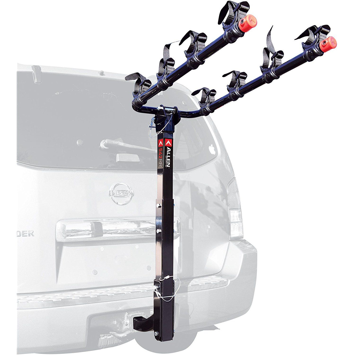 Allen Sports Deluxe 4Bike Hitch Mount Rack with 2Inch