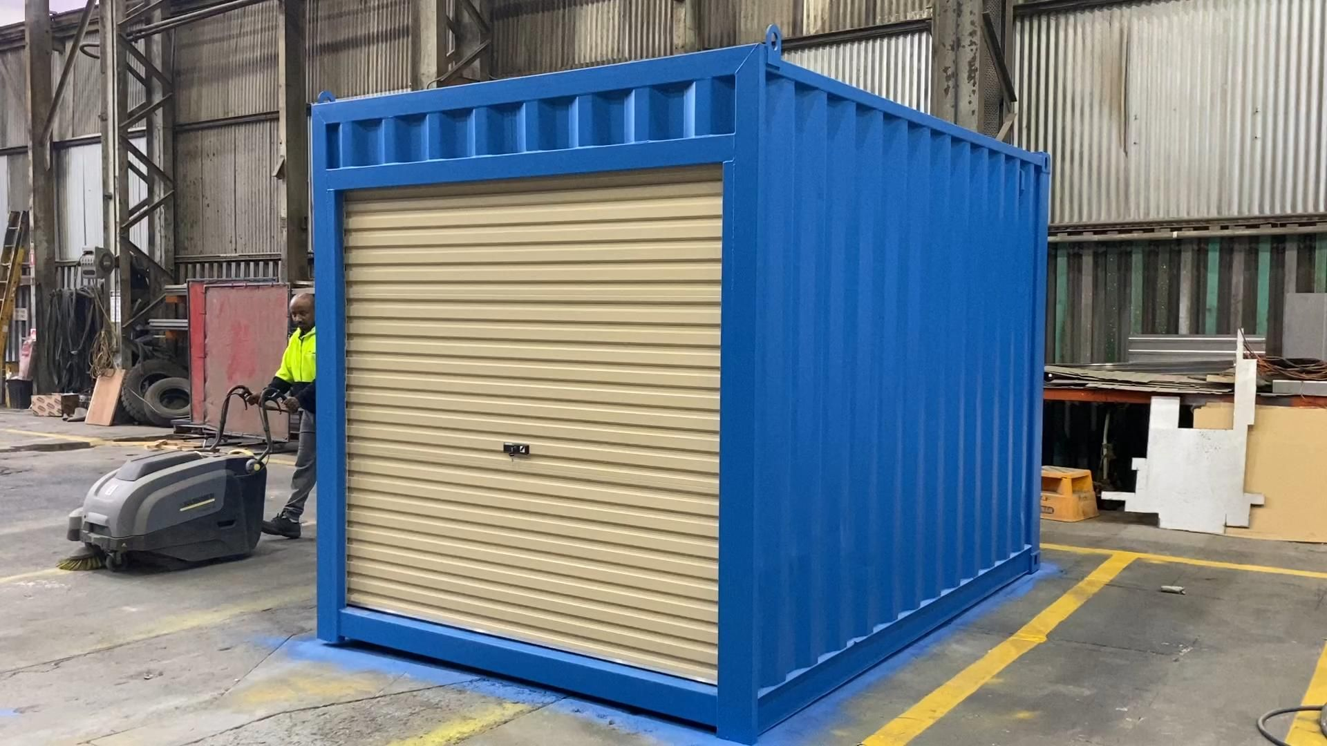 Thank You Page Containerspace In 2020 Roller Doors Containers For Sale Shale Grey
