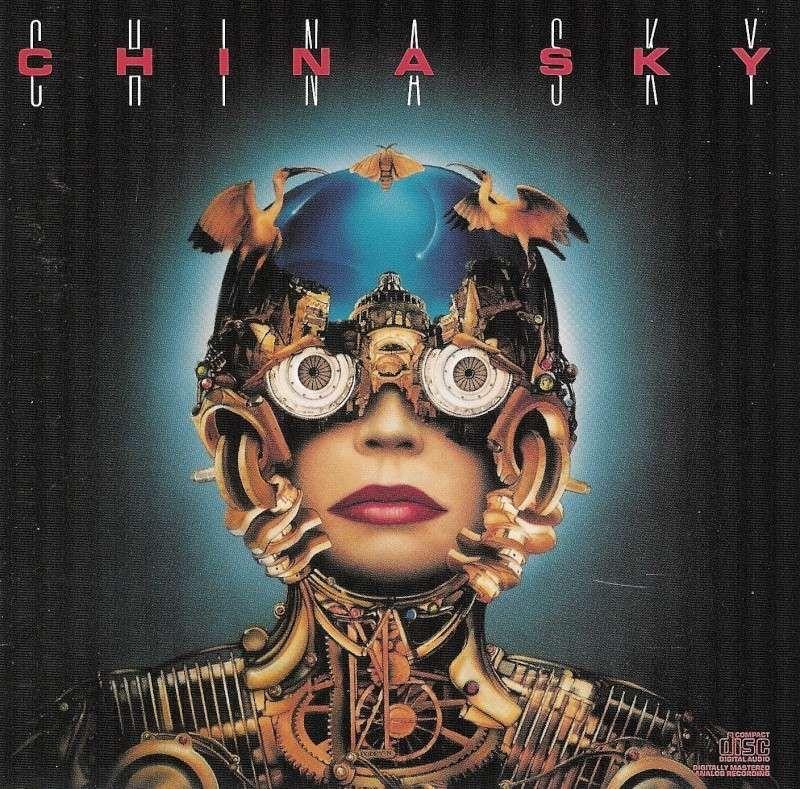 1988 China Sky - China Sky [CBS ZK44088] illustration: Jean-Francois Podevin #albumcover
