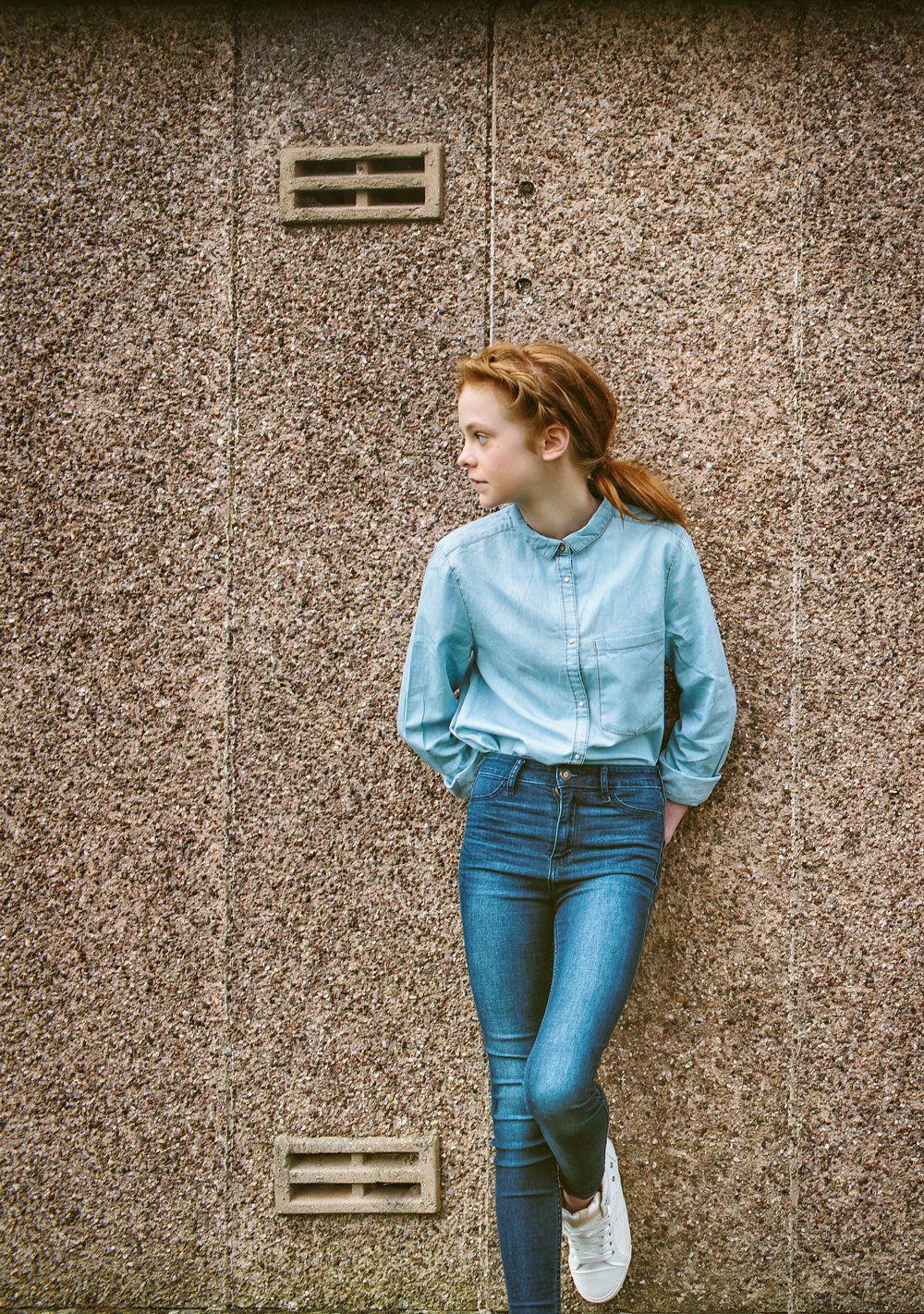 Double denim kids style for summer 2016, kids editorial, kids fashion, girls fashion, girls denim