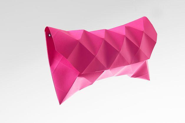 Clutches - Papier Clutch - Größe M - Dahlia - ein Designerstück von Petit-Fou bei DaWanda