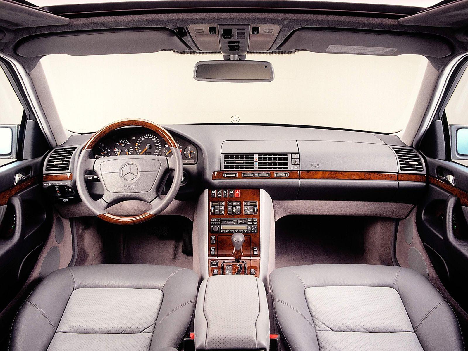 Mercedes Benz S Classe W140 Mercedes W140 Mercedes Interior