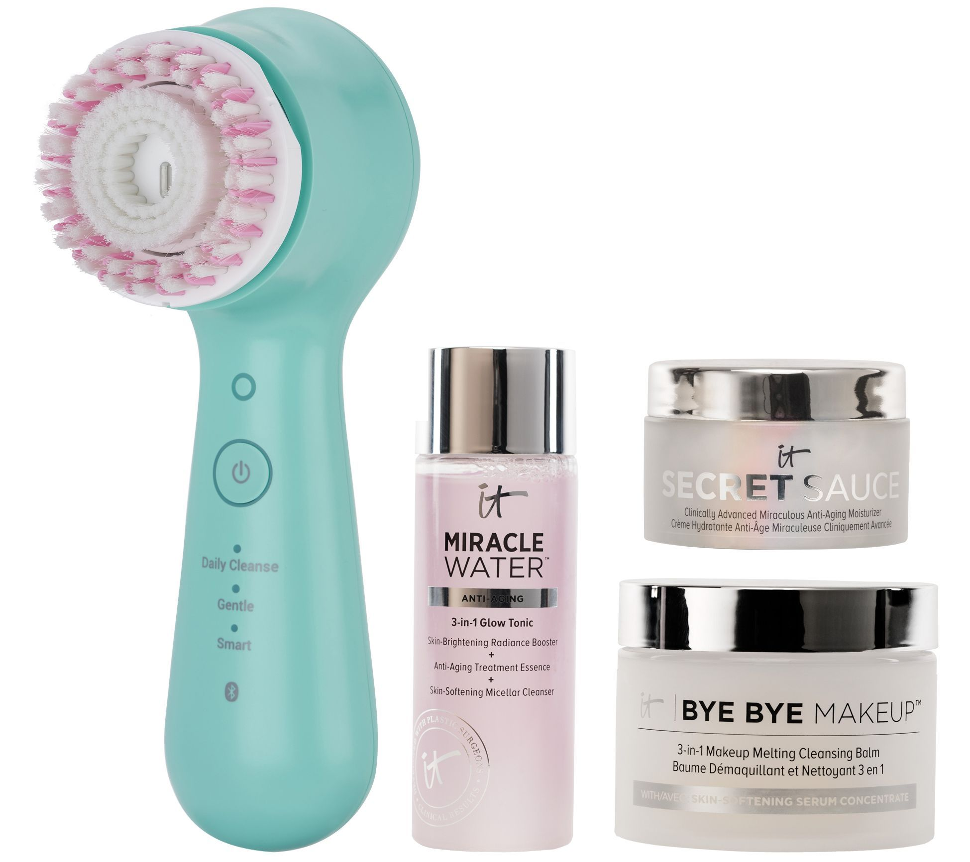 Clarisonic Mia Smart Cleansing System & IT Cosmetics Set