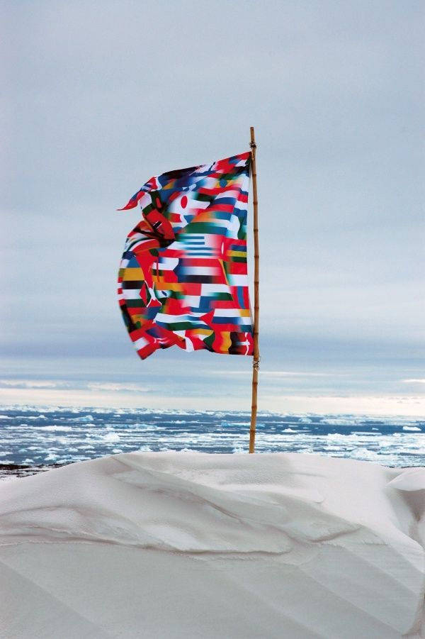 Studio Orta News Antarctica Flag National Flag