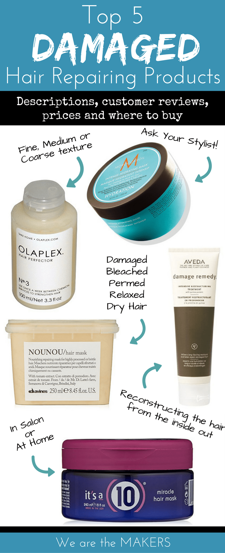 The Best Hair Products For Damaged Repair Deep Conditioning Treatments Dry Or Bleached To Make It Healthy Again