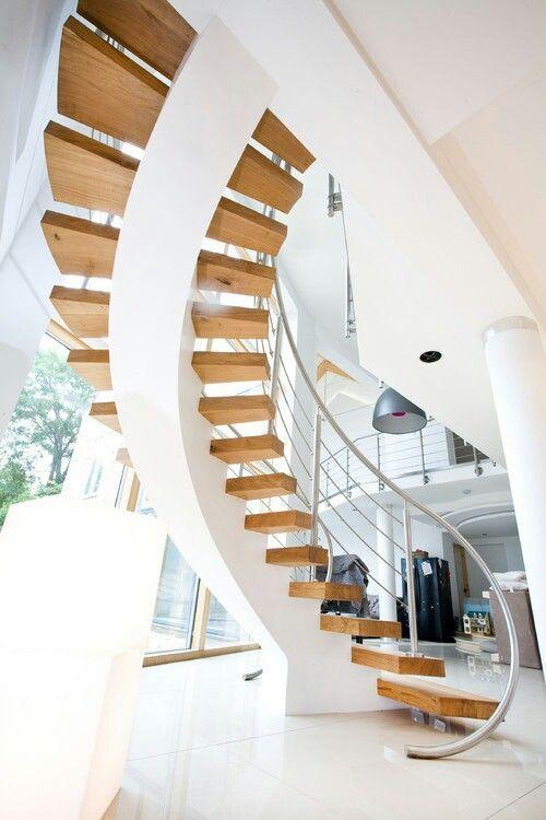 درج خشب جميل Stairs Design Staircase Design Interior Stairs