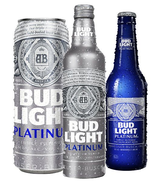 Bud Light Platinum Beers New Look