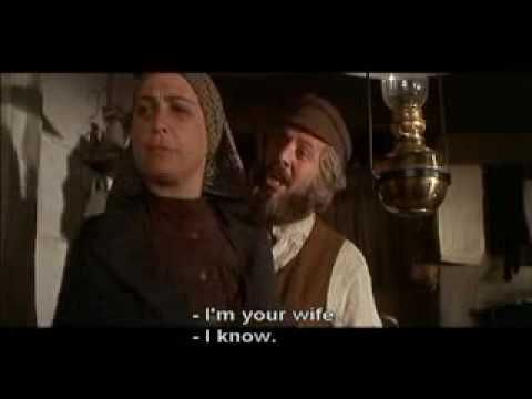 Fiddler On The Roof Do You Love Me With Lyrics