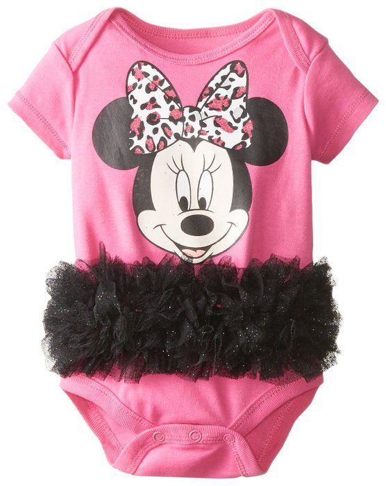 4fc70ce6e Disney Baby Girls Minnie Mouse Tutu Creeper, Pink, 3-6 Months ...